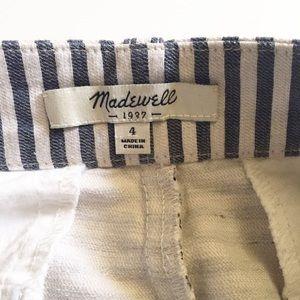 Madewell Skirts - Madewell Striped Mini Skirt Size 4